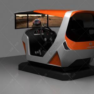 单座三屏动感汽车驾驶模拟器