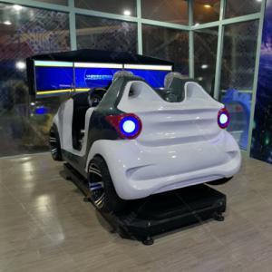 双座三屏汽车驾驶模拟器